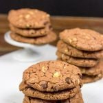 Dark Chocolate Chip Hazelnut Cookies