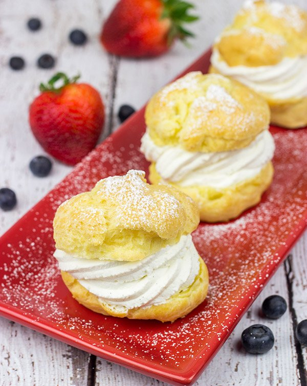 Homemade Cream Puffs: These light desserts are surprisingly easy to make!
