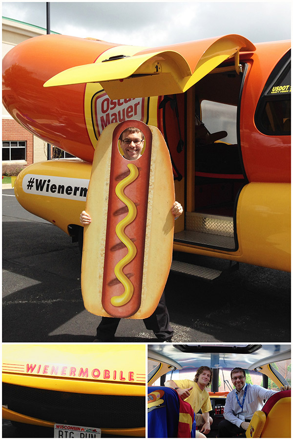 The Kraft Wienermobile at SoFabCon14!