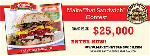 2014 Mezzetta Make That Sandwich Contest