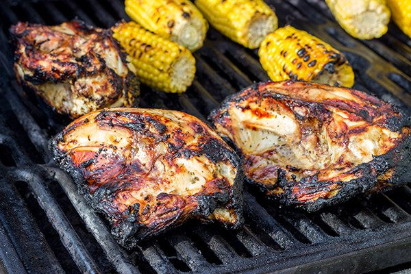Bbq Split Chicken Breasts