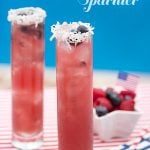 {Drink Recipe} Blueberry Coconut Sparkler
