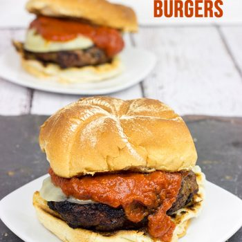 Summer Grilling: Italian Meatball Burgers