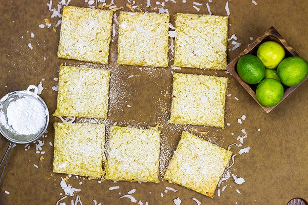 These Key Lime Coconut Bars are loaded with bright, tropical flavors...and they make for one heck of a delicious summer dessert!