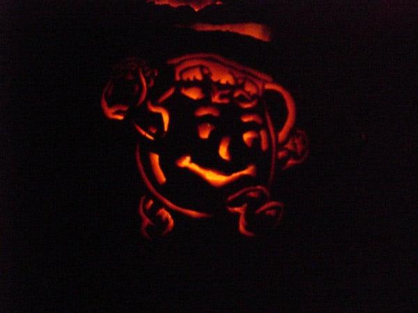 Kool-Aid Man Pumpkin