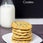 Soft + Chewy Chocolate Chip Cookies