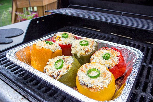 These Southwestern Stuffed Peppers are a tasty and delicious meal...no matter the season!
