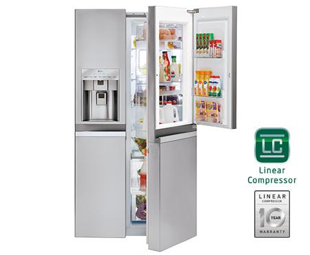 LG Door-in-Door refrigerator