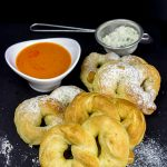 Buffalo Ranch Soft Pretzels