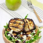 Grilled Pear, Gorgonzola and Pecan Arugula Salad