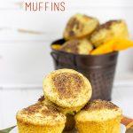 Pumpkin Pie Spice Cornbread Muffins