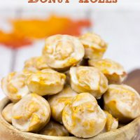 Celebrate Autumn with these quick and easy Baked Pumpkin Spice Donut Holes!