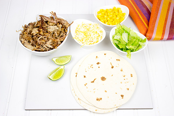 These Carnitas Tacos are a slow cooked to perfection. They're the perfect recipe to make on a chilly weekend!