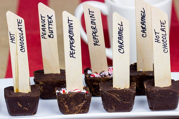 Mix your Hot Chocolate up a bit...and serve it on a stick!