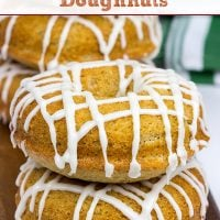 These Baked Gingerbread Doughnuts are packed with delicious gingerbread flavor...and they're surprisingly easy to make, too! Happy Holidays!