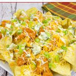 Buffalo Chicken Ranch Nachos