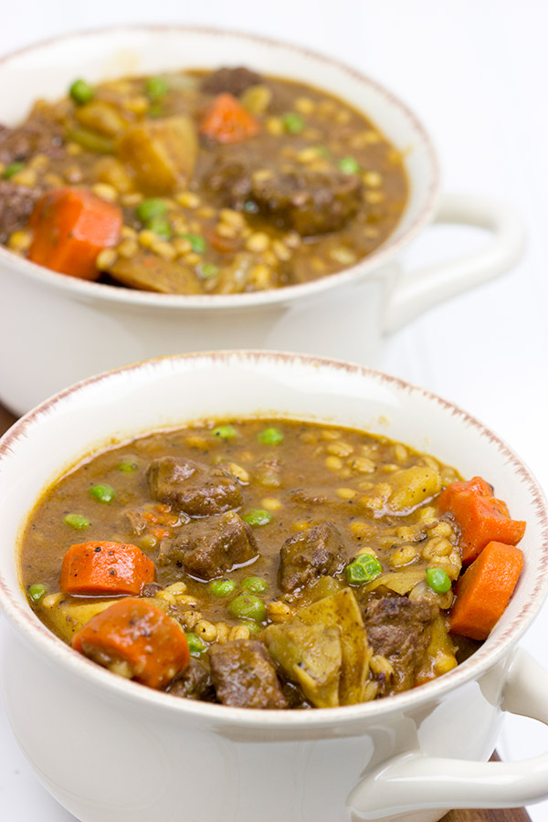 This Hearty Beef and Vegetable Stew is a comfort food classic...warm up with a bowl tonight!