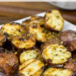 Rosemary and Garlic Grilled Red Potatoes