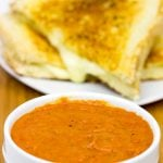 Tomato Grilled Cheese Soup