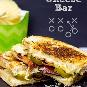 Be the MVP of your party with this fun and delicious Grilled Cheese Bar! Get creative with the ingredients, let your guests build their own sandwiches and then award prizes for the more unique sandwiches.