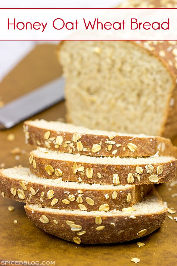 Thanks to the oats and milk, this Honey Oat Wheat Bread is an incredibly soft (and incredibly delicious) loaf of bread!