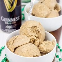 Celebrate St. Patrick's Day in style...with a bowl of this Chocolate Stout Ice Cream!