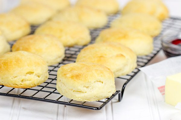 These Angel Biscuits are so light and fluffy that you'll swear they came from a can!