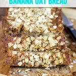 Gluten-free Banana Oat Bread