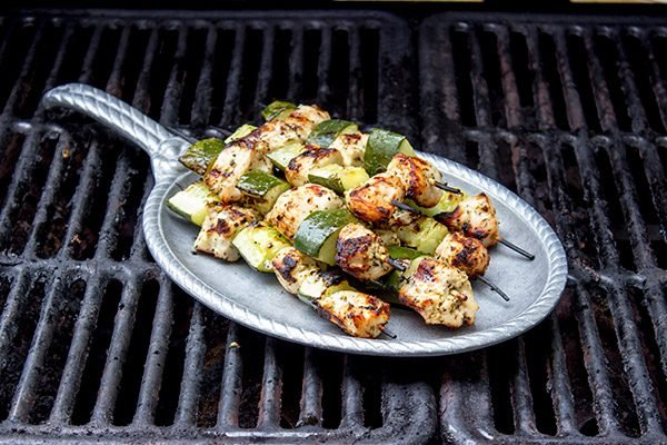 If you're looking for fun grilled recipes for the summer, then give these Chicken Souvlaki Skewers a shot. They're definitely one of our favorites!