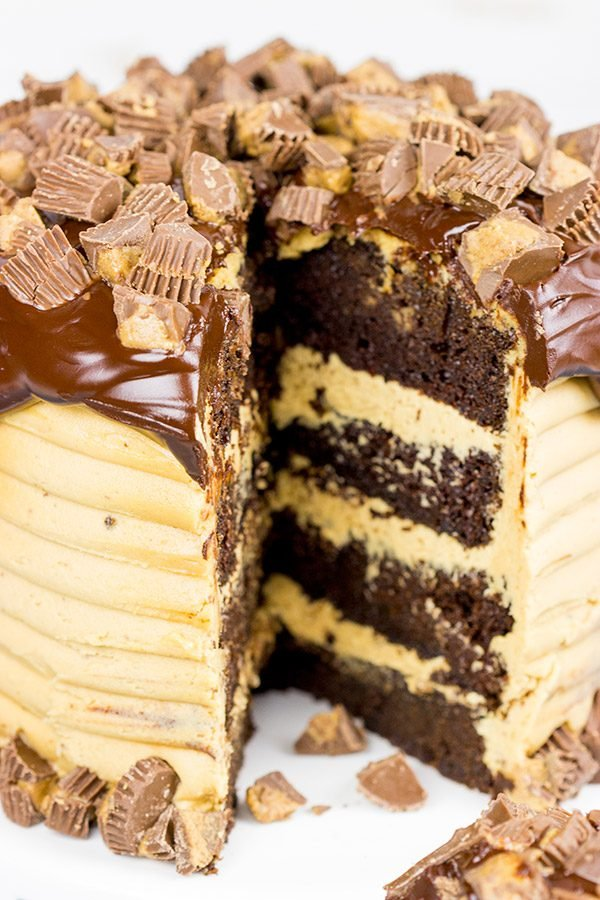 Recipe For Peanut Butter Cake With Peanut Butter Frosting