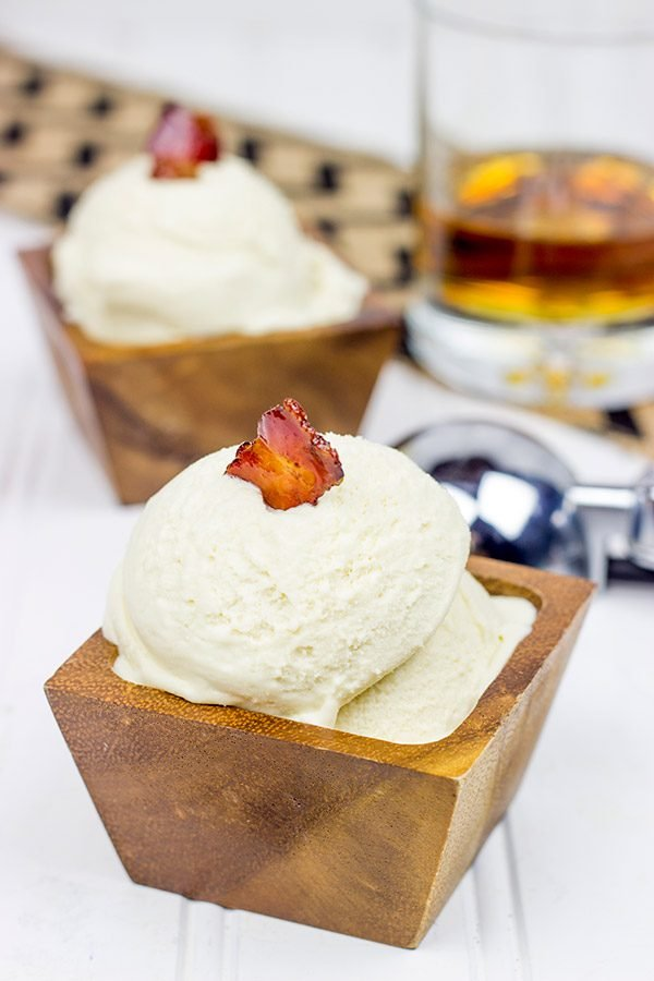 Raise a bowl of this Maple Bourbon Ice Cream and toast the warm summer evenings spent with friends. Cheers!