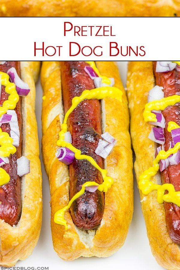 Shake up your summer grillin' routine with these tasty Pretzel Hot Dog Buns!