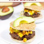 Southwestern Taco Burger