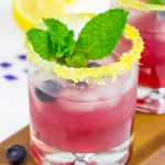 Blueberry Bourbon Smash