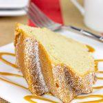 Caramel Chai Pound Cake