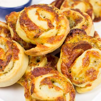 Mix up pizza night and make up a batch of these Pepperoni Pizza Rolls. They're quite tasty when served with ranch dressing!
