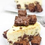 Brownie Bite Cheesecake