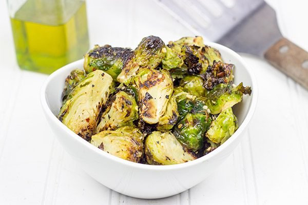 Grilled Brussels Sprouts might be one of my favorite new summer side dishes!