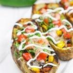 Grilled Southwestern Potato Skins