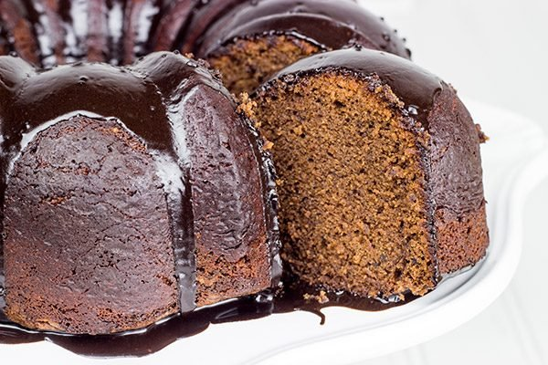 This Decadent Chocolate Pound Cake Features A Nutella Glaze
