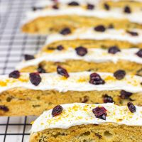 These American-style Cranberry Orange Biscotti are the perfect treat to share with family and friends!
