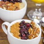 Maple Pecan Pie Oatmeal