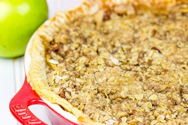 Grab some fresh apples and bake up this Dutch Apple Pie...then serve with a cup of hot coffee on a crisp Autumn evening!