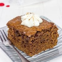 This Gingerbread is a classic holiday comfort food!