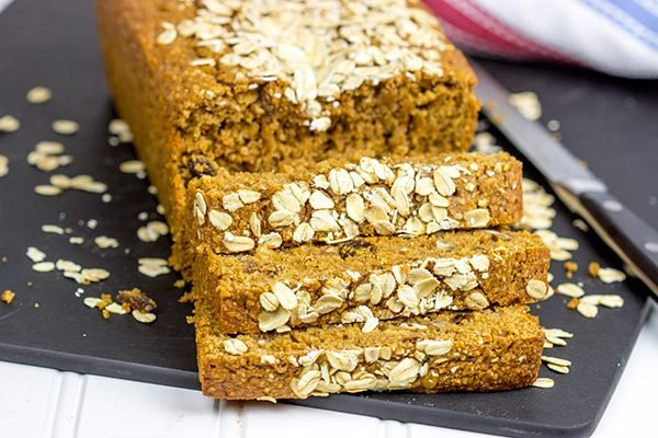 Loaded with flavor and packed with fiber, this Oat Bran Bread makes for an excellent, healthy breakfast!