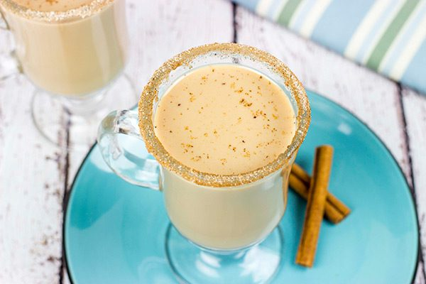 Packed with warming seasonal spices, this Pumpkin Spice Chai Latte is best served with a good book and a roaring fire.