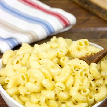 This 3-Cheese Creamy Mac and Cheese is the ultimate cold-weather comfort food!