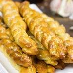 Garlic Butter Pretzel Twists