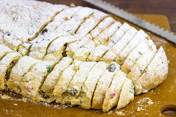 Homemade stollen is delicious! Start a new holiday baking tradition with this classic German holiday bread!