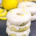 Baked Lemon Doughnuts